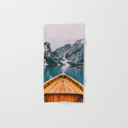 Canoe Mountains (Color) Hand & Bath Towel