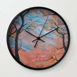 """Speculatur Omnia """"She Watches All"""" Wall Clock"""