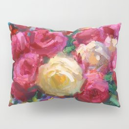 Red and Yellow Roses Pillow Sham