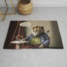 Hungry Lion Rug