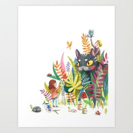 Little Painters Art Print