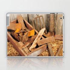 Rusted tools Laptop & iPad Skin