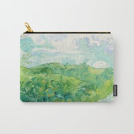 Green Wheat Fields - Auvers, by Vincent van Gogh Carry-All Pouch