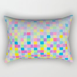 JCrafthouse  The Painted Block Basketweave  Rectangular Pillow