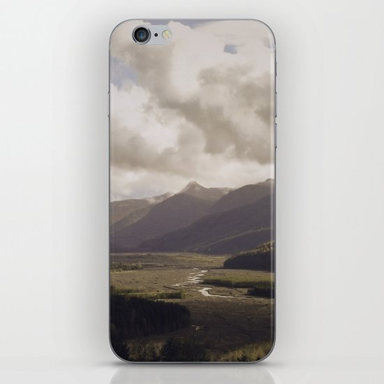 Toutle River Valley iPhone & iPod Skin