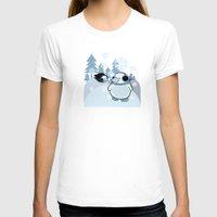 penguins T-shirts featuring penguins by Caracheng