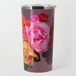 Carmen Miranda inspired roses - Floral perfection Travel Mug