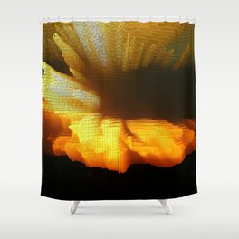 Sunset Abstract Shower Curtain