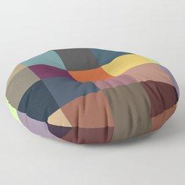 Pixel Patchwork Kappa Floor Pillow