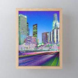 LA fantastic Framed Mini Art Print