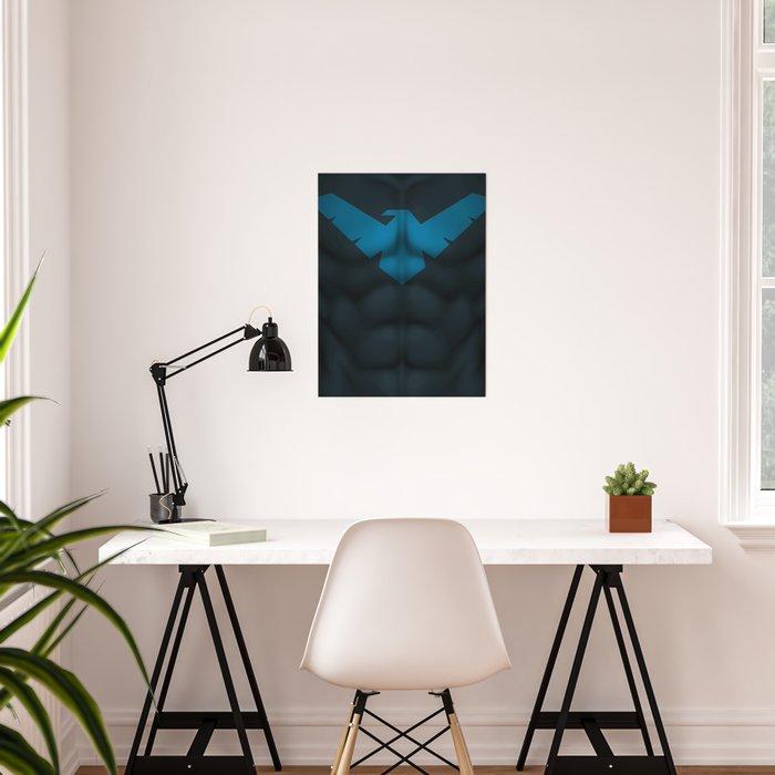 Nightwing2: Superhero Art Poster