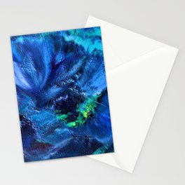 Blue Anemone Stationery Cards