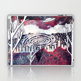 Night Travels revisited Laptop & iPad Skin