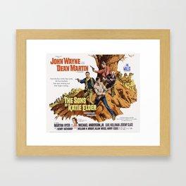 John Wayne - The Son's of Katie Elder Framed Art Print
