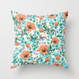 Tangerine Dreams #society6 #decor #buyart Throw Pillow