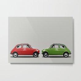 Fiat500 Metal Print