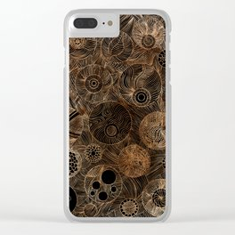 Organic Forms Clear iPhone Case