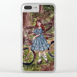 Wandering in the Woods Clear iPhone Case