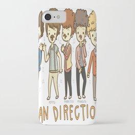 Juan Direction One Direction Cartoon iPhone Case
