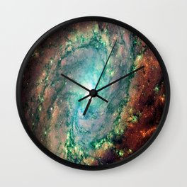 Spiral Galaxy Wall Clock