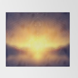 welcome to the dream gate. ayahuasca trip Throw Blanket