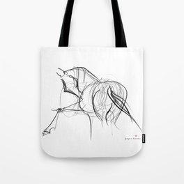 Horse (Ballet dancer) Tote Bag