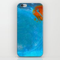 earth iPhone & iPod Skins featuring Earth by Fernando Vieira