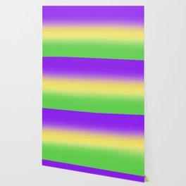 Mardi Gras Ombré Gradient Wallpaper