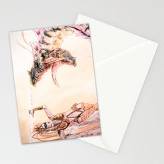 Leviathan against Shiva Stationery Cards