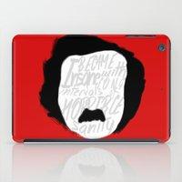 edgar allan poe iPad Cases featuring Edgar Allan Poe: Insanity by Kelly Irene