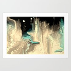 DREAMING OF THE DIVINE Art Print