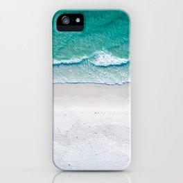 White sand beach iPhone Case