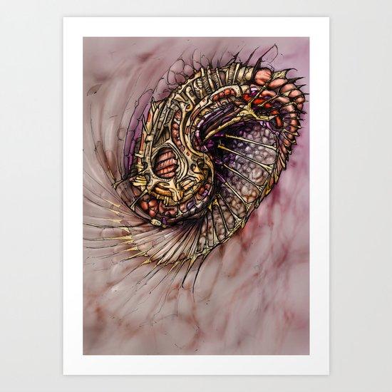 Manifold S Art Print
