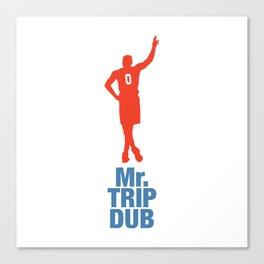 Mr. Trip Dub Canvas Print