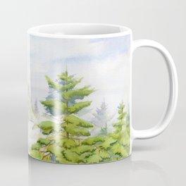 On The Hill Of Christmas Cove Coffee Mug