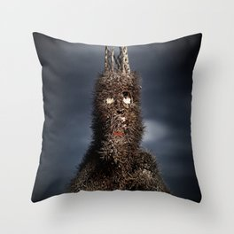 King of The Chollas. Throw Pillow