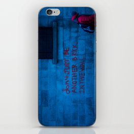 Don't Just Be...v2 iPhone Skin