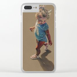 """Leighton"" Clear iPhone Case"