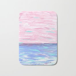 Pink Sky Delight Bath Mat