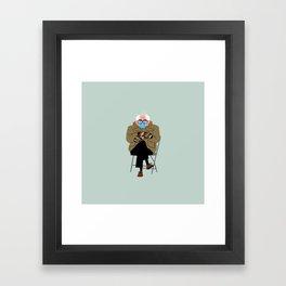 Bernie's Mittens Framed Art Print