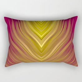 stripes wave pattern 3 ee Rectangular Pillow