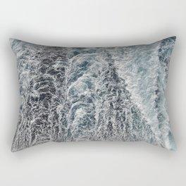 wake of the ship 2 Rectangular Pillow