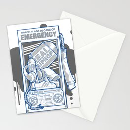 Emergency Hip Hop to the Rescue!  Stationery Cards