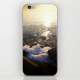 Sunset over Ice Lake iPhone Skin