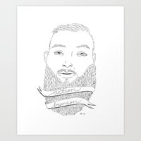action bronson Art Prints featuring Action by alexdavey