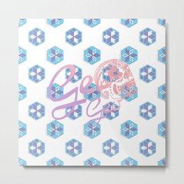 GEO SAC Metal Print