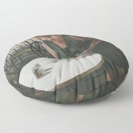 In the Absence of A Dream Floor Pillow