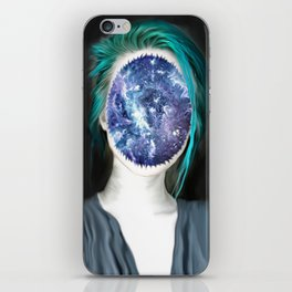 spaced–out iPhone Skin