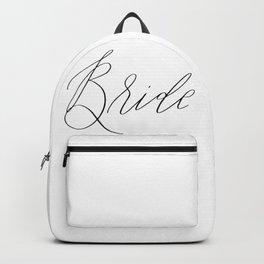 Lettered Bride Backpack