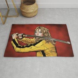 Tarantino - Kill Bill Kiddo The Bride - ragged edges (Various Colors) Rug